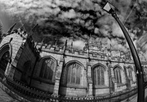 Church in wigan by Leasepics