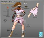 Dead or Alive 5 - My Contest Design Submission by RedCaliburn