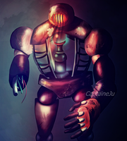 The robot by CaptaineJu
