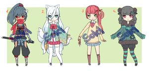 Adoptable Set 4 [CLOSED] by cytes