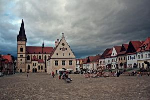 Bardejov -  square by mirop