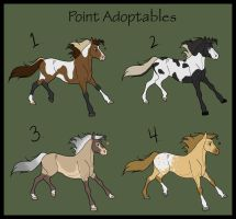 Point Adoptables 1 ALL TAKEN by Alethea14