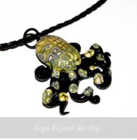 Octopus Necklace by Toxic-Muffins-Studio