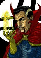 Vincent Price as Dr. Strange by Jagoba