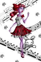 Monster High: Operetta Dot Dead Gorgeous by NemoTurunen