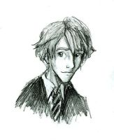 Young Remus by Hillary-CW
