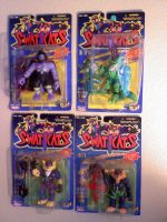SWAT KATS action figures - complete set by MADDOGCA