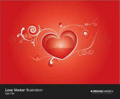 Love Vector Illustration by adriano-designs