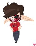 Duckbuscus Profile Doll Thing :GIFT: by Charchar189