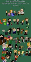 Books VS Movies : characters representation by ptite-ane