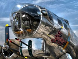 Sentimental Journey B-17G by musksnipe