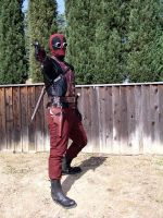 Steampunk Deadpool 1 by TreeVor