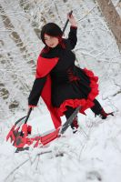Ruby Cosplay: RWBY by Reesesnnpieces
