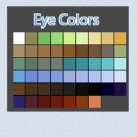 Eye Color Swatches by Linkdb