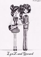 Gerard and LynZ by KJVonBlood