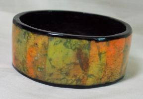 Watercolors Bracelet by ACrowsCollection