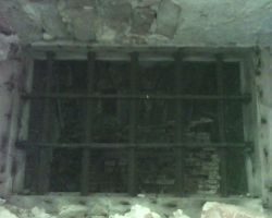 Dungeon window with bars by Dhacxaahsvost