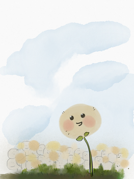 Cotton Ball by jessiealexandra
