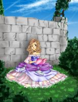 Girl in the Garden by MauricesMoon