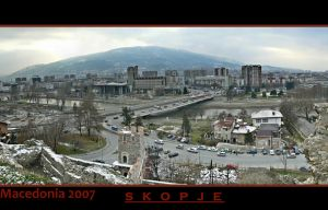 Macedonia - Skopje Panorama by mitatos