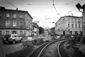 Tramways in Nizhny Novgorod by Lazarusmeister