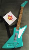 Custom Guitar for MLP Sunset Shimmer Cosplay by KarRedRoses