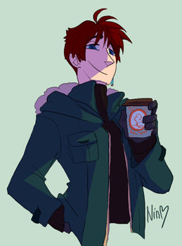 MOrning Coffee Nick style test by NinGeko