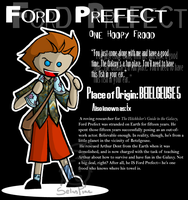 Ford Prefect by SelanPike