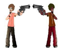 Afro-Twins by prithu