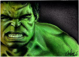ACEO PSC hulk sketch card by chrisfurguson