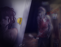 [Creepypasta] Jeff the killer: I can't wait by KorikoMewGean