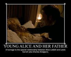 Young Alice and Her Father by Dominik528