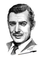 CLARK GABLE by RobertoBizama