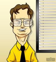 Dwight Schrute by GIG-Arts