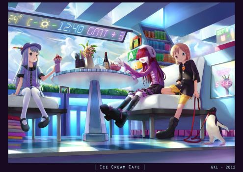 Ice Cream Cafe by Liclac