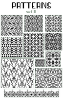 pixel patterns - set A by base-o-holic