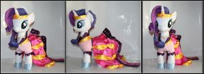 My Little Pony  -  Rarity Gala Plush by Lavim