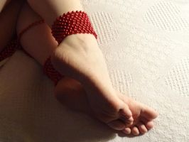 Red beads by Yes-Mistress--Please