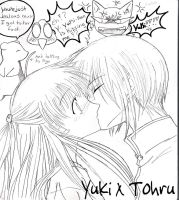 Fruits Basket: Yuki x Tohru by animefreak0o