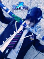 Ao no Exorcist - Blue Exorcist - Rin Okumura by K-I-M-I