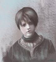 Game of Thrones - Arya Stark by teal-clouds