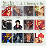 2014 Summary of Art by Super-Furet