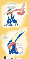 Greninja you're hilarious by Weirda208