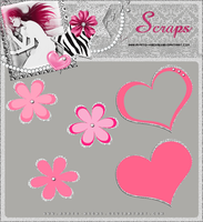 PNG Flowers and hearts 1 by Ayato-msoms