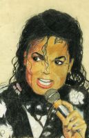MJ Tribute - Old drawing by MrBrowne