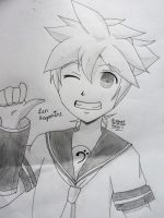 Len Kagamine by MistressSimple