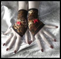 Jungle Jane Fingerless Gloves by ZenAndCoffee