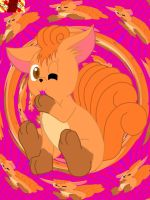 Cute Vulpix by Marquis2007