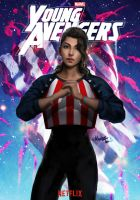 America Chavez by MeTaa