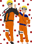 Naruto Uzumaki before and afte by Narusailor